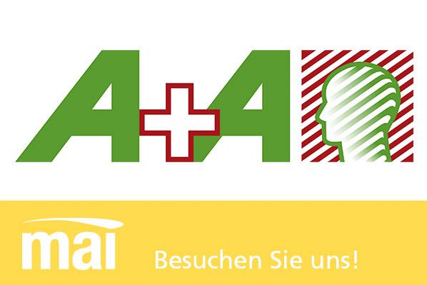 Besuchen Sie uns auf der A+A Düsseldorf